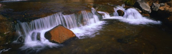 Panoramic Waterfall landscape