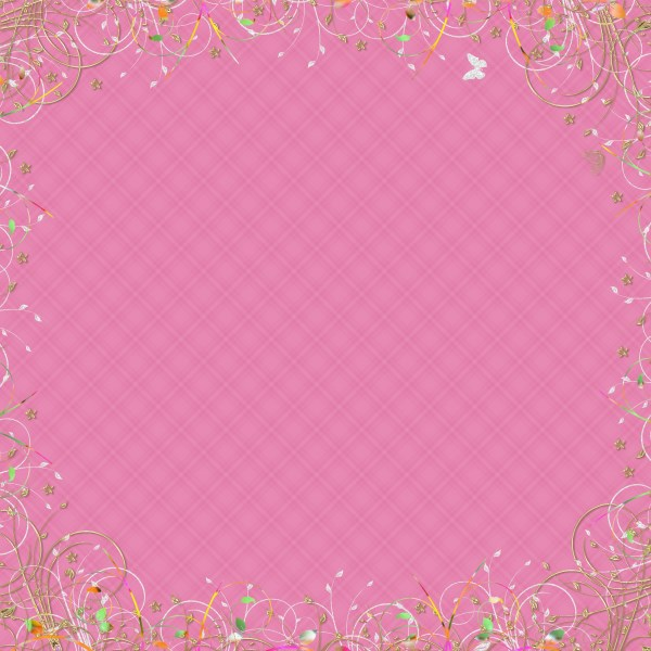 Flower Patterned Background