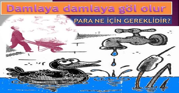 Damlaya damlaya göl olur - Hayat Bilgisi 2