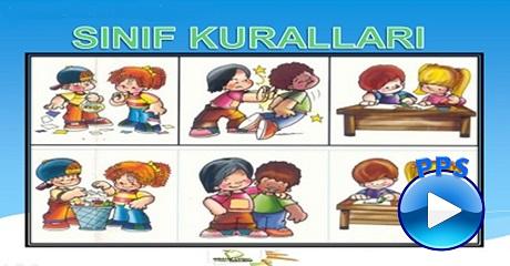 Sınıf kuralları - Okul öncesi eğitim