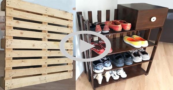 Ayakkabılık yapımı - KENDİN YAP