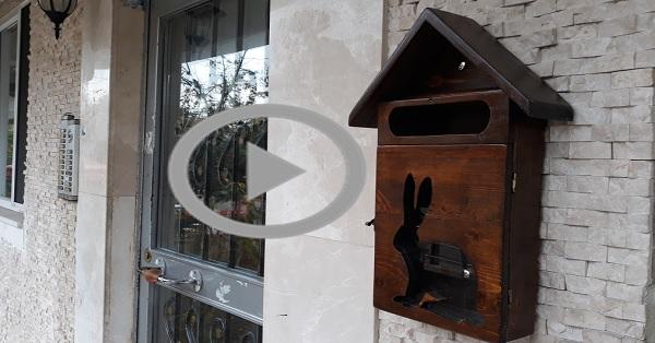 Paletten posta kutusu yapımı KENDİN YAP