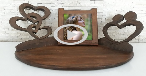 Ahşap dekoratif çerçeve yapımı - KENDİN YAP