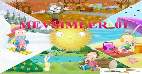 Mevsimler 01 - Okul öncesi eğitim
